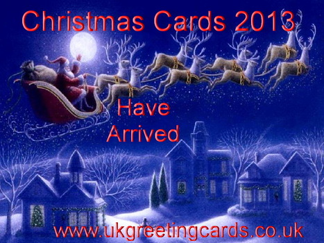 Christmas Cards 2013 Has Arrived at UK Greeting Cards | Buy Christmas Cards | Handmade Christmas Cards Online | Scoop.it