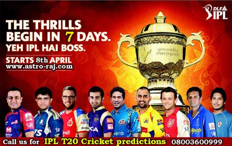 IPL T20 Match Prediction, IPL Predictions, IPL 2015 Match Predictions Astrology | Cricket Predictions | Love Marriage Specialist, Sex Problems, Career Astrology | Scoop.it
