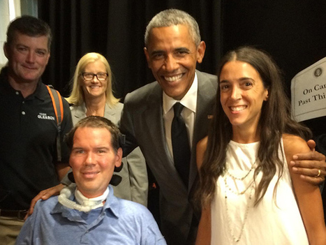 President Obama meets with Steve Gleason on New Orleans visit    | #ALS AWARENESS #LouGehrigsDisease #PARKINSONS | Scoop.it