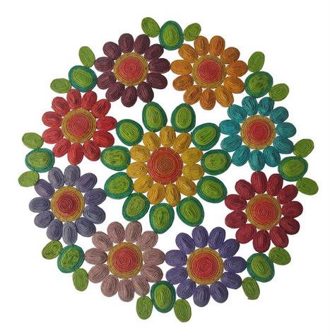 BrecoStore: Artesanato com JORNAL reciclado | Ecodesign | Scoop.it