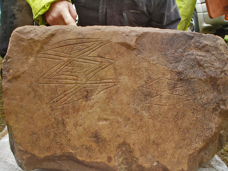 Neolithic engraved stone discovered at the Ness of Brodgar | Neolithic Age | Scoop.it