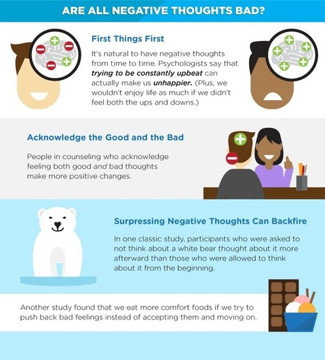 Why negative thoughts are actually good for well-being | Positive futures | Scoop.it