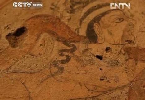 Buddhist ruins discovered in Taklimakan desert CCTV News - CNTV English | Anthropology, Archaeology, and History | Scoop.it
