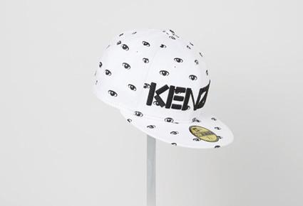 Kenzo a encore l'oeil sur vous, cette fois avec New Era : Skeuds, le ... | Les collaborations entre créateurs et marques low cost | Scoop.it