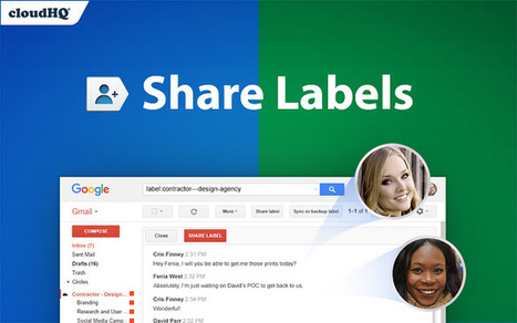 The easiest way to share emails: Gmail label sharing | Dropbox | Scoop.it