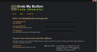 Blog button online generator | Blogging tips | Scoop.it