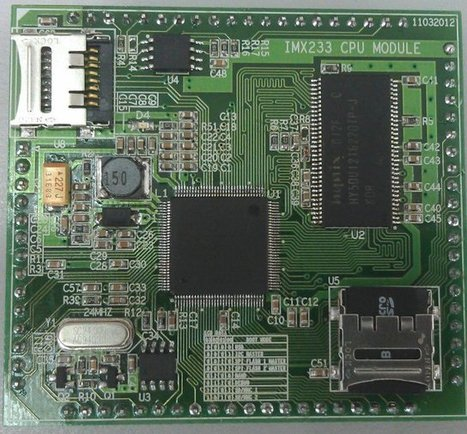 Locux: 15 USD Freescale i.MX233 System On Module | Embedded Systems News | Scoop.it