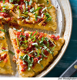 Mediterranean Cauliflower Pizza | fitness, health,news&music | Scoop.it