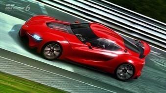 Jeux video: Toyota FT-1 Concept dispo dès demain dans Gran Turismo 6 !! | cotentin-webradio jeux video (XBOX360,PS3,WII U,PSP,PC) | Scoop.it