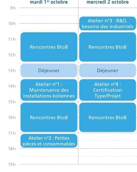 Rencontres Windustry  Le 1er et 2 Octobre Le Havre > B to B uniquement pour les entreprises | Actualités Orne | Scoop.it