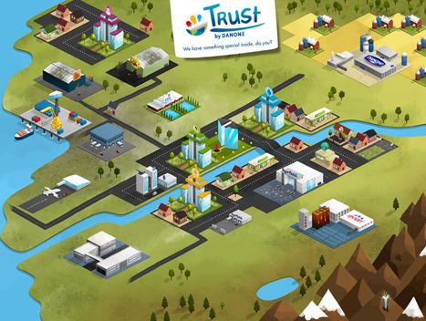 Trust by Danone: le social gaming au service du recrutement | Blog YouSeeMii | Social_gaming | Scoop.it
