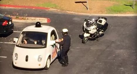 Not Even Google's Self-Driving Car Can Escape the Cops | News we like | Scoop.it