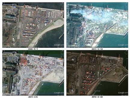 Un an après, Google Maps met à jour ses images du Japon | Japon : séisme, tsunami & conséquences | Scoop.it