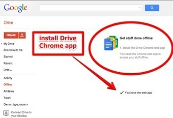 A Visual Guide on Using Google Drive Offline | Christian high School libraries | Scoop.it