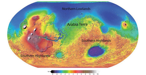 Fossilized rivers suggest warm, wet ancient Mars | Amazing Science | Scoop.it