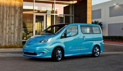 Nissan anuncia produção do furgão elétrico e-NV200   Motores   Scoop.it