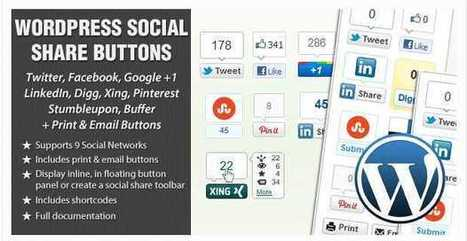 Best Wordpress Social Media Plugin: Increase Share | blog | Scoop.it