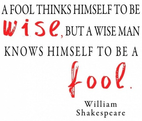 Tryary - For those who want more out of life - Why It Is Wise To Be Wise | Tryary | Scoop.it