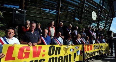 LGV : «On nous aurait menti ?» - ladepeche.fr | Stop TGV Coudon et la LGV PACA | Scoop.it