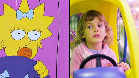 "Here's What The Opening of ""The Simpsons"" Looks Like Recreated With Stock Footage 