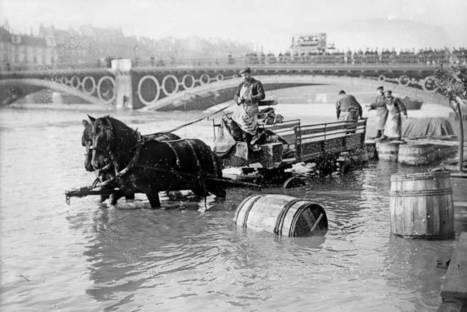 La crue de 1910 - Histoires de Paris | Histoires de Paris | Scoop.it