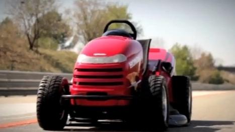 210 Km Hız Yapan Çim Biçme Makinası   Dünyadan Haberler   Scoop.it