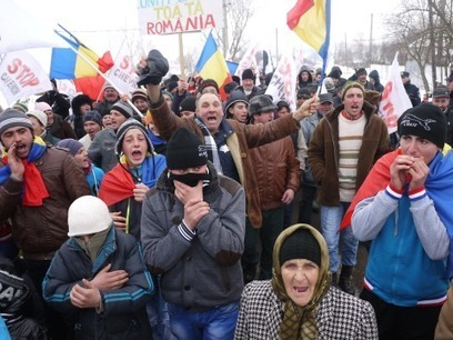 Révolte paysanne roumaine contre la fracturation hydrolique du gaz de schiste | Autres Vérités | Scoop.it