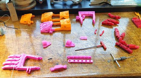 Une collaboration globale pour offrir des mains imprimées en 3D à des enfants | Happiness is the Truth | Scoop.it
