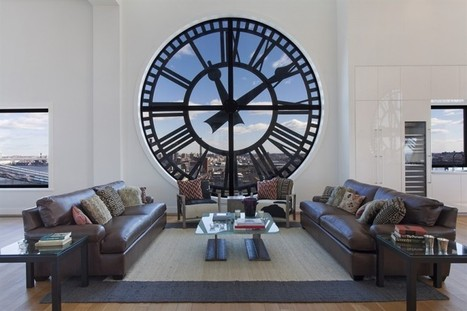 Clock Tower, loft en triplex à New York | Lofts | Scoop.it