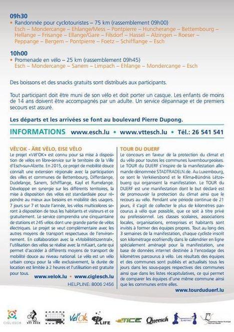La semaine européenne de la mobilité à Esch-sur-Alzette | Infogreen | Le flux d'Infogreen.lu | Scoop.it