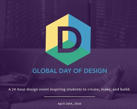 Global Day of Design - April 26, 2016 @spencerideas | Reinvento | Scoop.it
