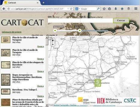 CARTOCAT, Geoportal de mapes de Catalunya | TIG | Scoop.it