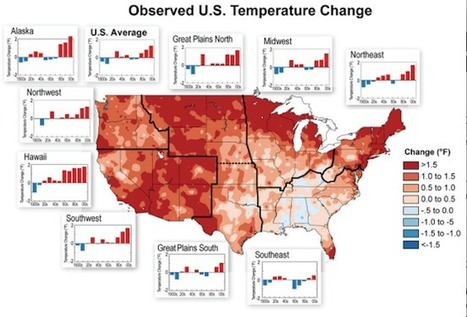 5 Must-See Charts From Major New U.S. Climate Report | Climate Central | Climate change challenges | Scoop.it