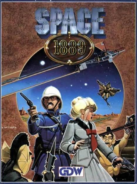 [Jeu de rôle et SteamPunk] Space 1889 | Choose Steampunk | Scoop.it