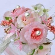 [US$ 6.99] Girly Free-Form Satin/Cotton Wrist Corsage (124032017) | beautifuldresses | Scoop.it