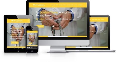 WpF Medinova - Free Responsive Bootstrap Medical Hospital Web Template | wpfreeware | Scoop.it