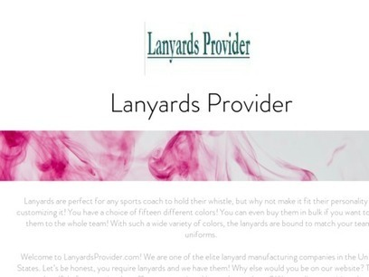 Lanyards Provider | martingaptilss | Scoop.it