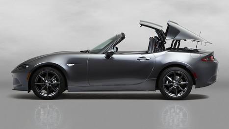 Nowa Toyota Prius oraz nowa wersja Mazdy MX-5 RF - BEmpire | hybrid engines | Scoop.it