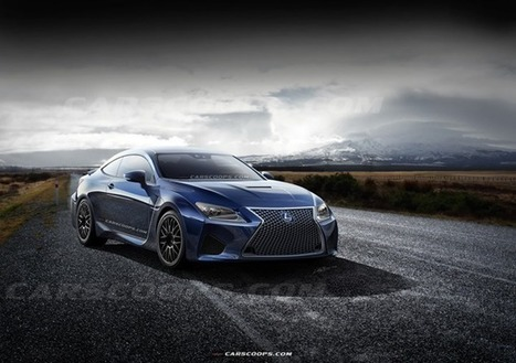 Future Cars: Brutish New Lexus RC-F Coupe to Take on Ze Germans - Carscoops | Automobiles, Supercars - constructeurs automobiles | Scoop.it