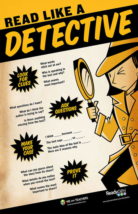 How to Read Like a Detective | digitalNow | Scoop.it