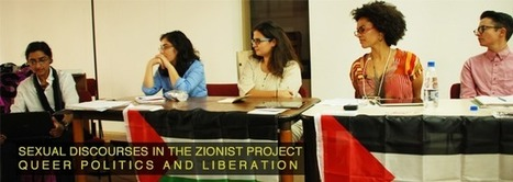 "Panel on ""Sexual Discourses in the Zionist Project: Queer Politics and Liberation."" 