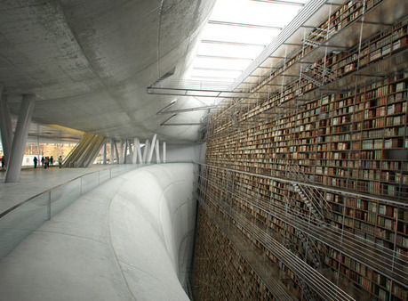 CGSociety - Stockholm Library Interior | bibliothekarisches | Scoop.it