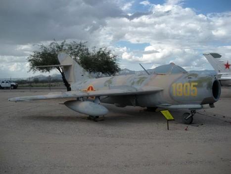 Mikoyan-Gurevich MiG-17 – WalkAround | History Around the Net | Scoop.it
