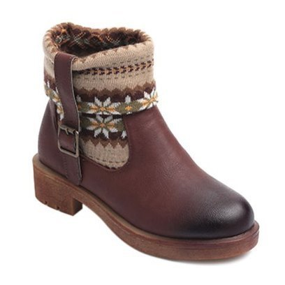 Ethnic Style Knitted Splicing Buckle Sock Boots - BlondiepieRadio.com | music.radio.shopping.blogging | Scoop.it
