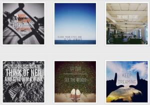 Overgram : Du texte sur vos photos Instagram | Actualités médias sociaux | Scoop.it