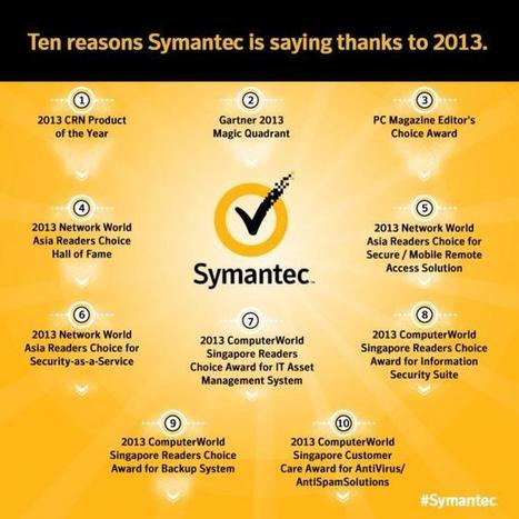 Ten Reasons Symantec is Saying Thanks to 2013 | Symantec Connect Community | Software Security | Scoop.it