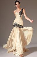 eDressit 2014 New Champagne One-Shoulder Sweetheart Formal ... | wedding dress | Scoop.it