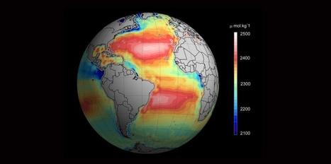 L'acidification des océans mesurée depuis l'espace - Sciences et Avenir | Dans mon sac de plouf | Scoop.it