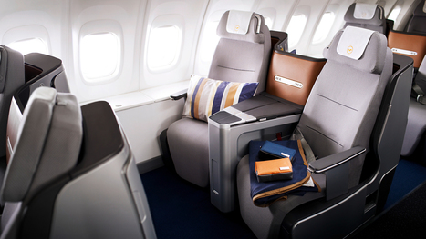 5 Years In The Making, Lufthansa's Ingenious New Business Class Seats | Business Brainpower with the Human Touch | Scoop.it