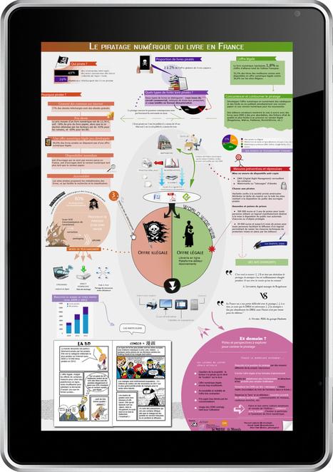 [Infographie] Le piratage de la BD numérique | Parlons BD | Scoop.it